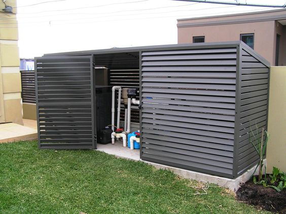 Pool Pump Shed Designs pool pump sheds for shade for sale pool pump cover shed Wood Shed With Open Door