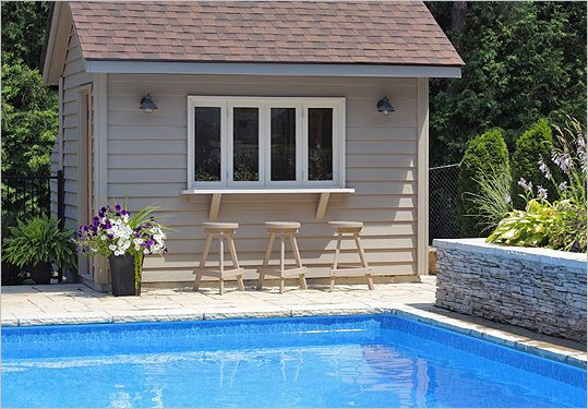 POOL EQUIPMENT SHEDS AND HIDEAWAYS | Infinity Pools of ...